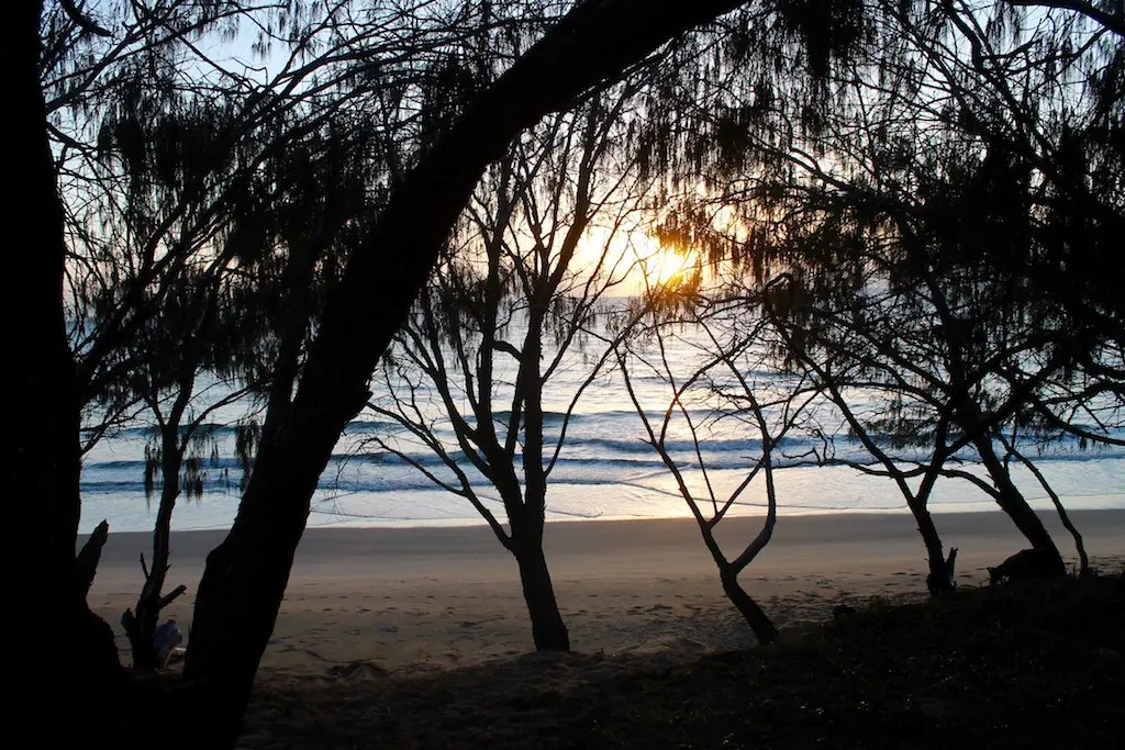 Kinkuna, one of our favorite things to do near Bundaberg is camp here.