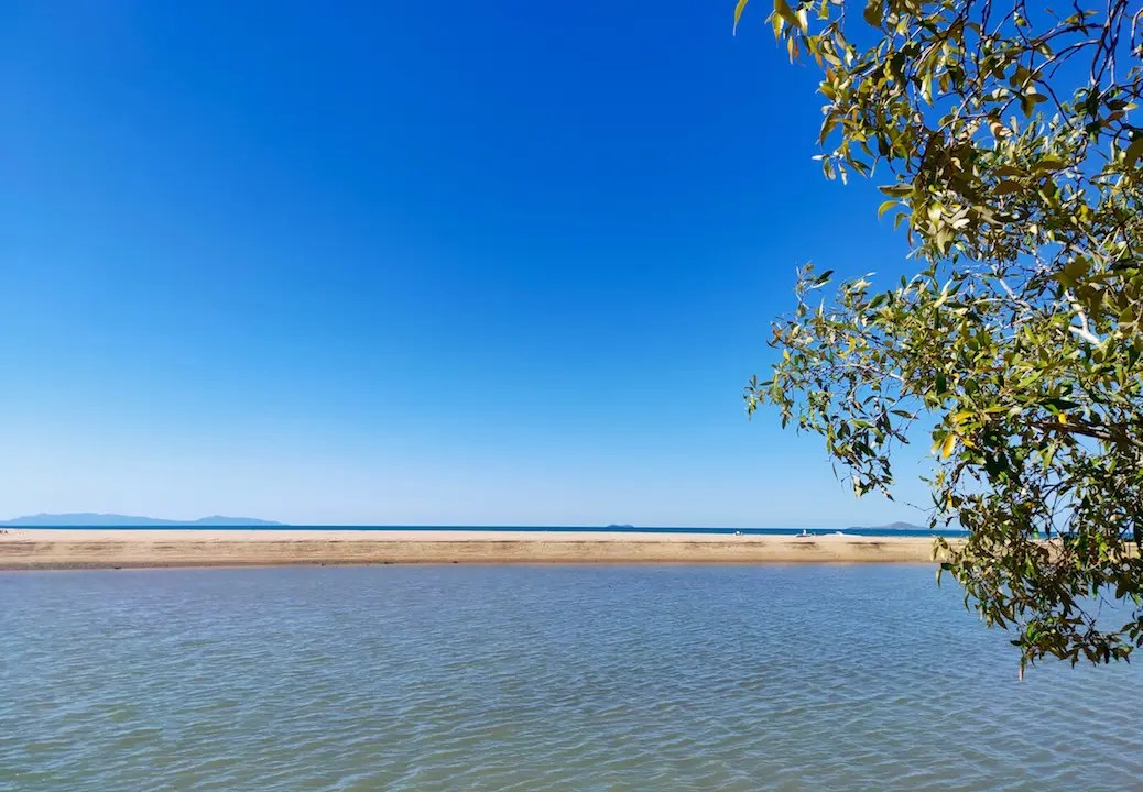 Some Townsville's best free camping can be found behind Toomulla Beach
