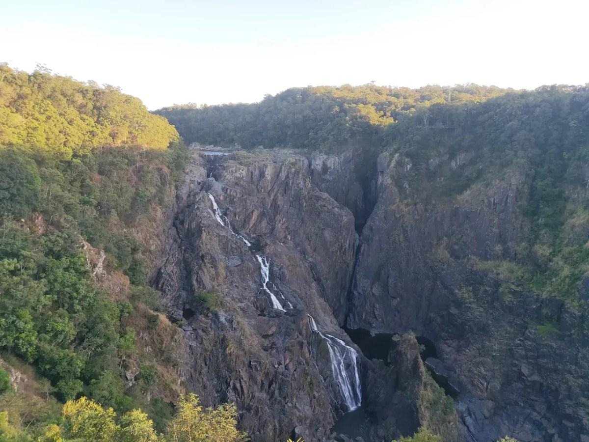 The Barron Falls in Kuranda during dry season.