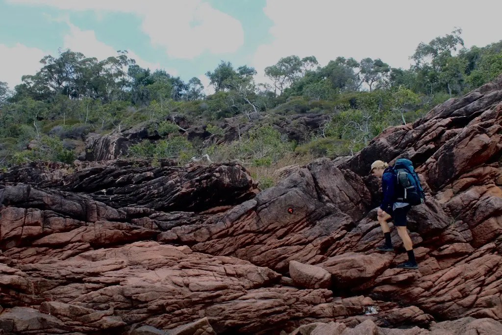Hiking is the only way to see the Thorsborne Trail Hinchinbrook Island