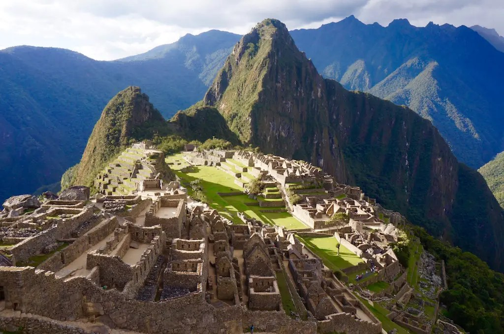 Machu Picchu Citadel in the afternoon light