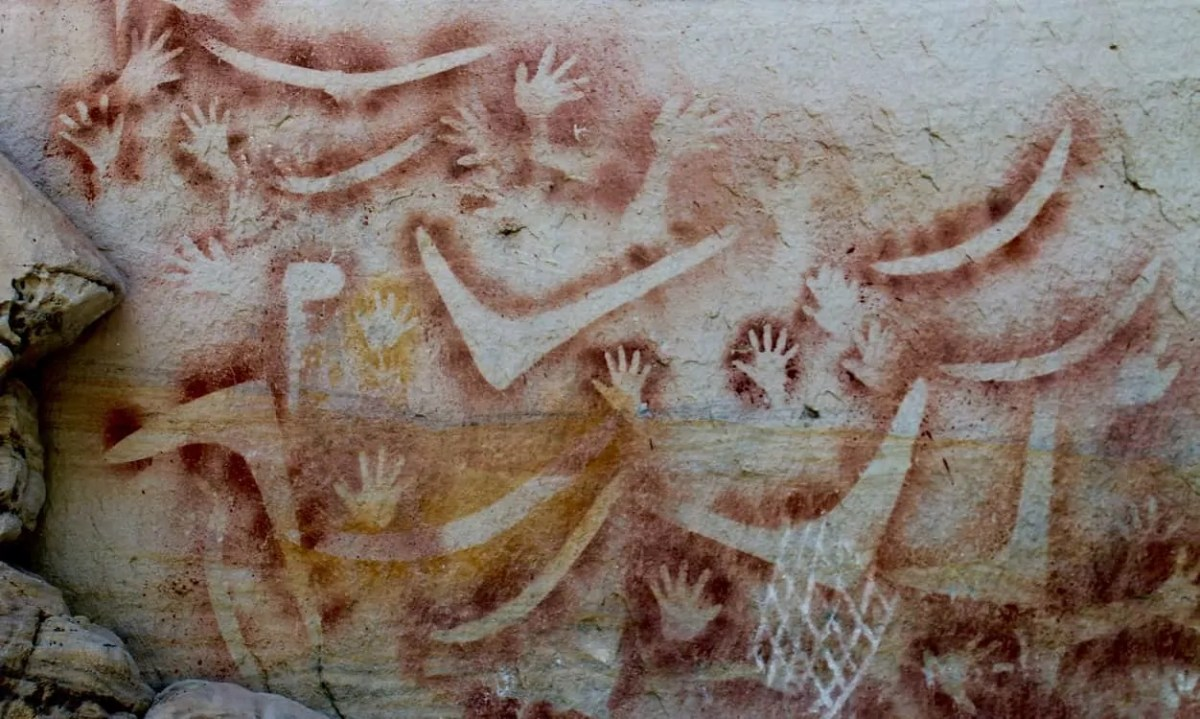 Aboriginal art is found throughout Carnarvon Gorge displaying the history of those gone before us