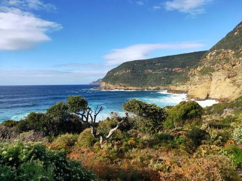 Maignon Bay in the Tasman Peninsula