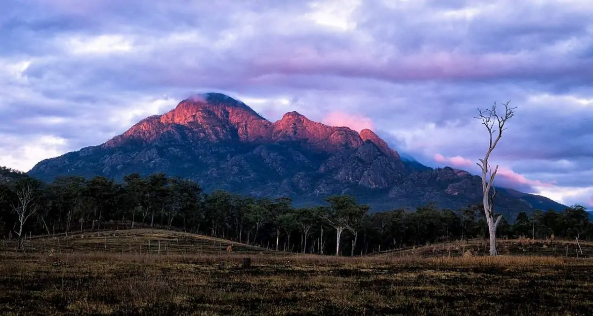 Mount Barney, one of the best national parks near Brisbane offers challenging and rugged wilderness adventure. Photo by Alan Wigginton