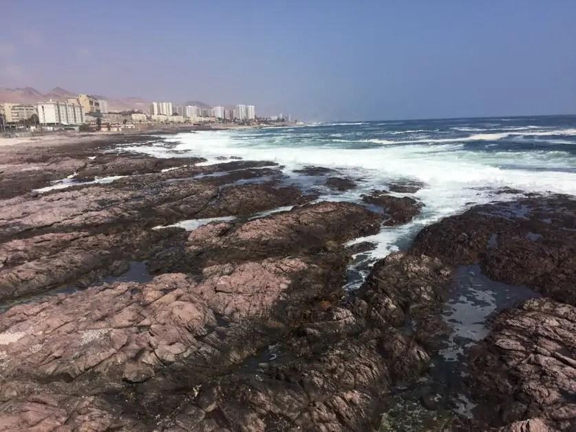 Antofagasta coastline