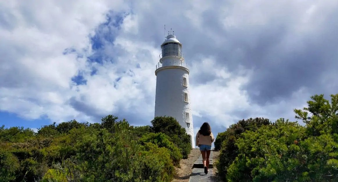 Exploring the Cape Bruny Lighthouse, one of the best things to do on Bruny Island
