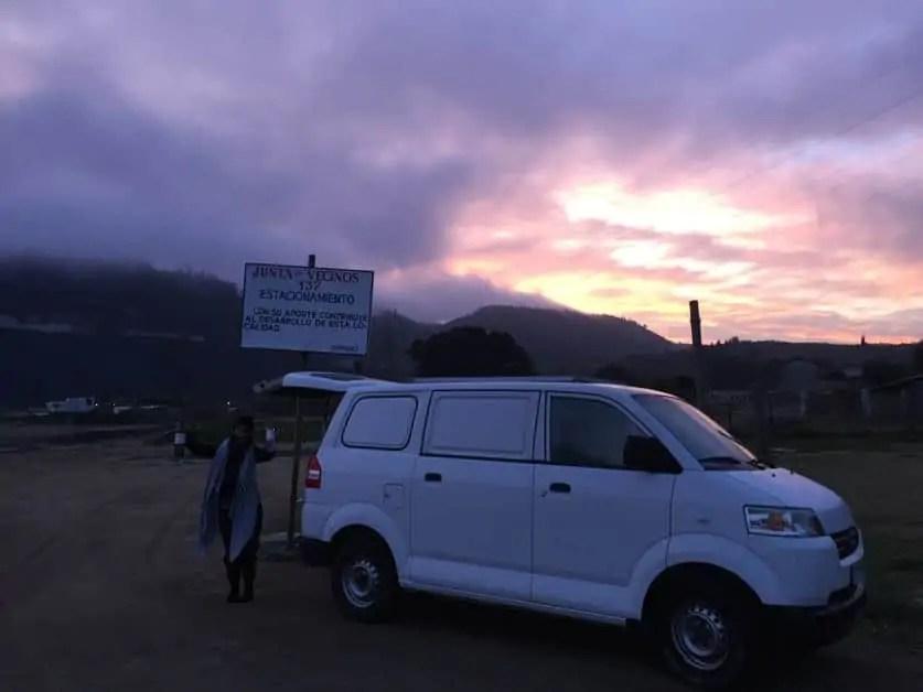 Van life in Valparaiso