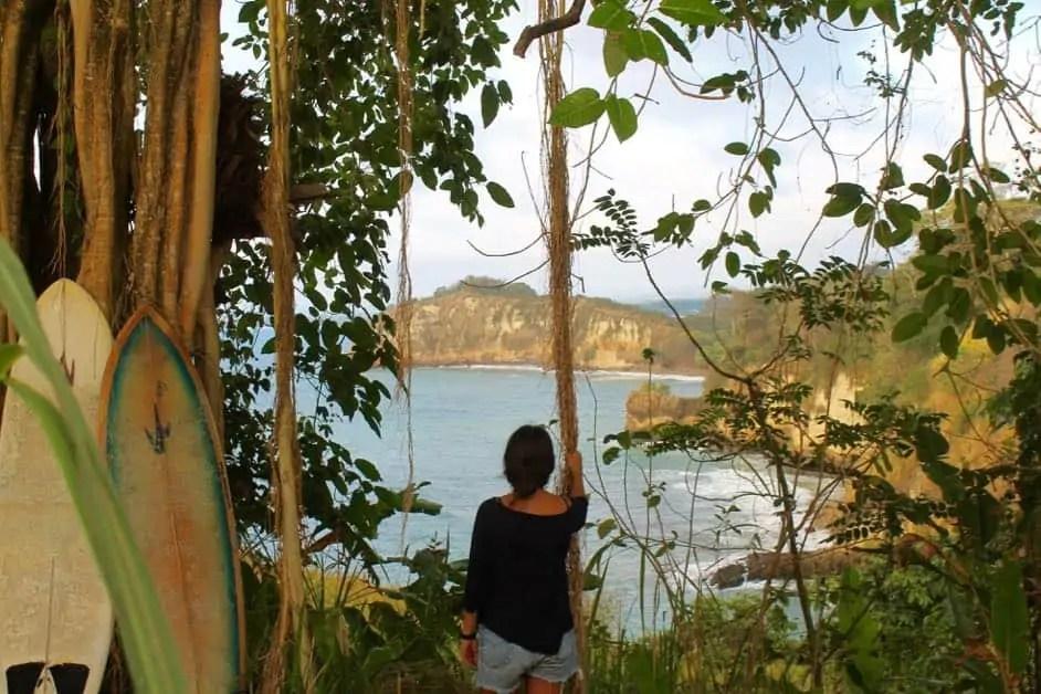 Free camping in Mompiche