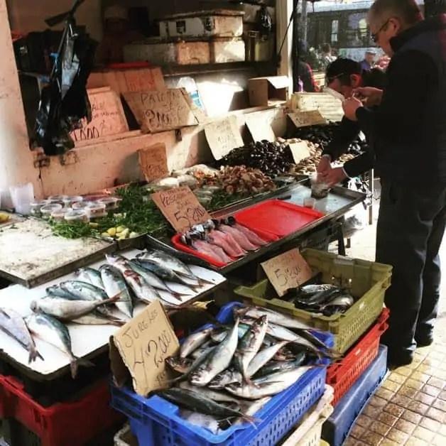 Fresh fish in Valparaiso