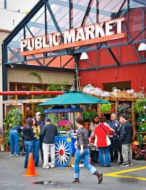Public Market, Granville Island, 2004
