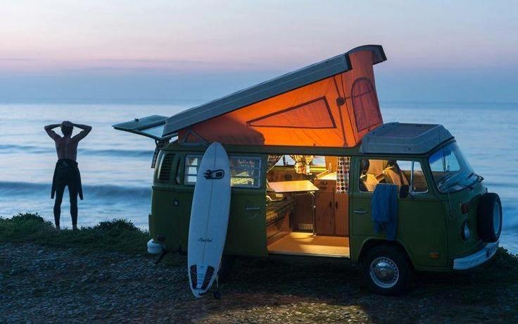 SURF, JAM, LIVE IN A VAN