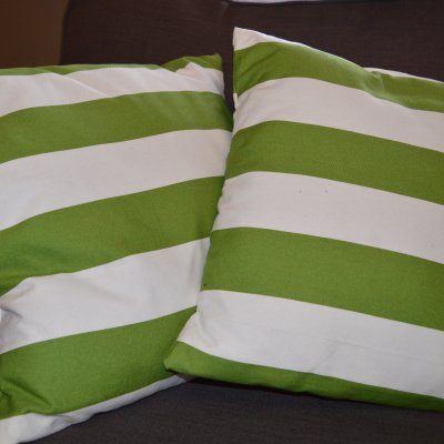 Super Easy DIY Cushion Covers