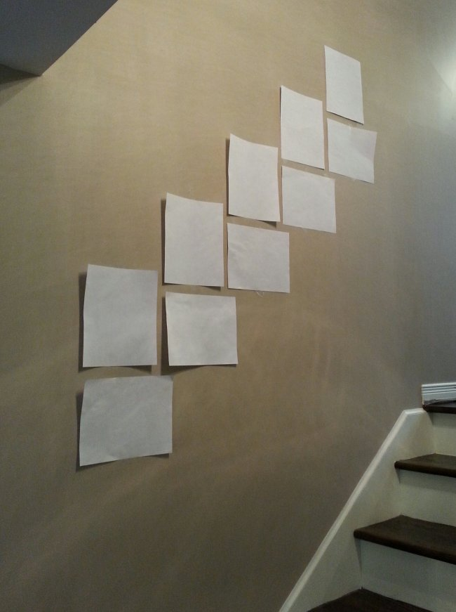 Planning a gallery wall