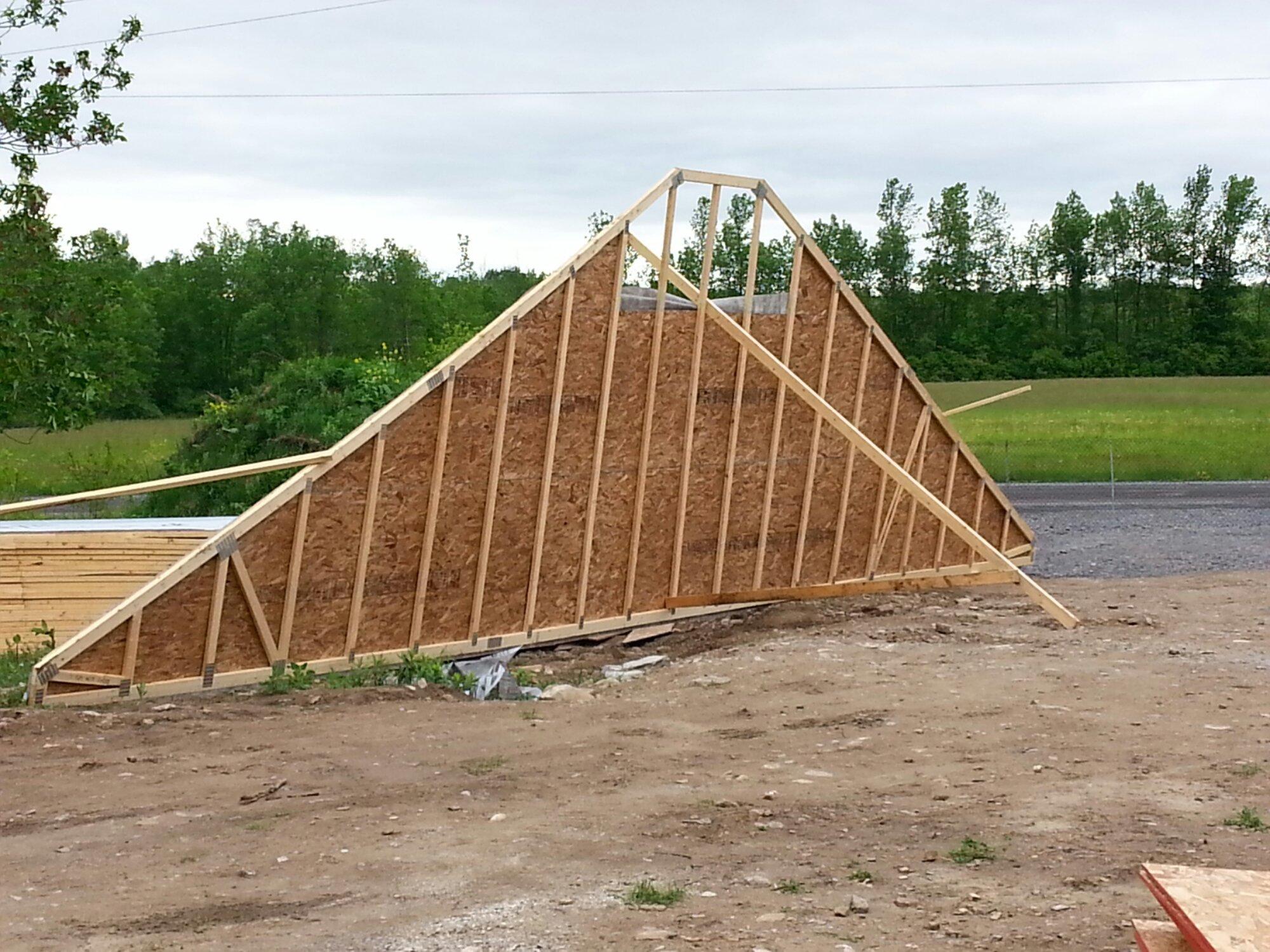trusses for a raised bungalow