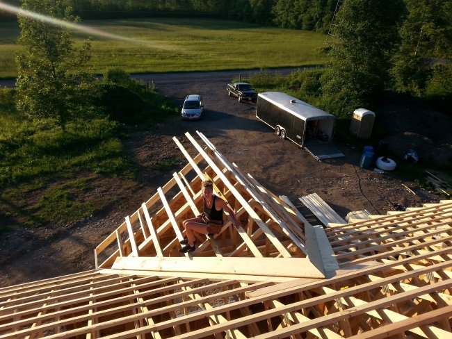 Grandor roof trusses