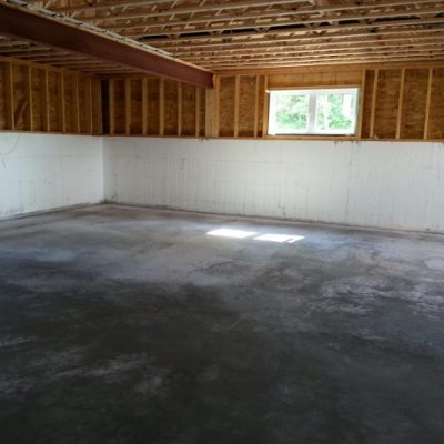 Week 12: How to pour basement concrete with in-floor heating