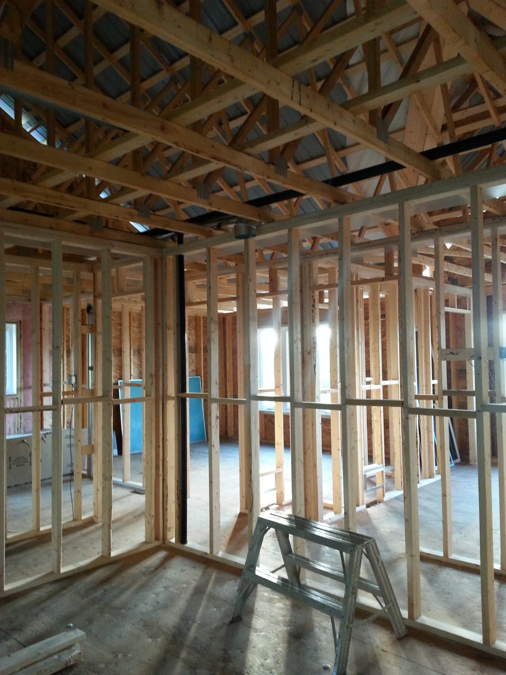 new ductwork owner builder
