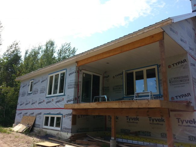 soffit and fascia raised bungalow