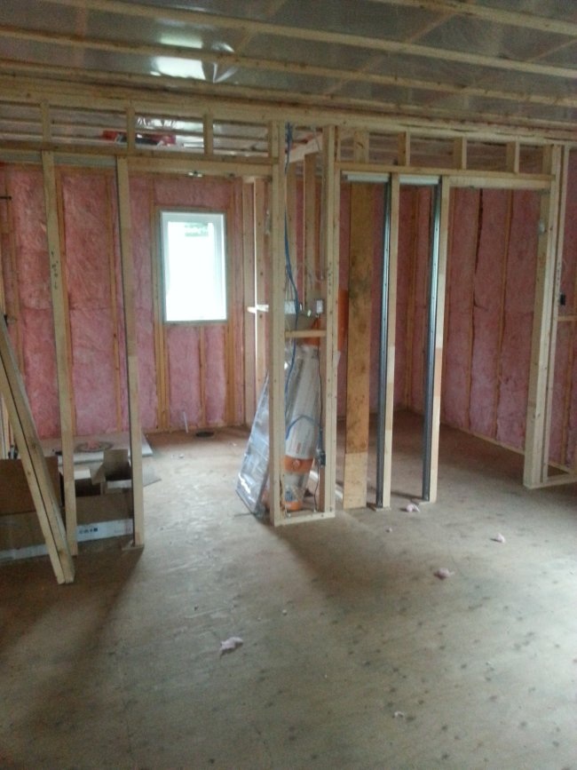 how to insulate a new home for an owner built raised bungalow