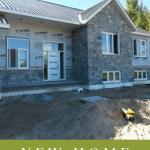 new home modular exterior stone