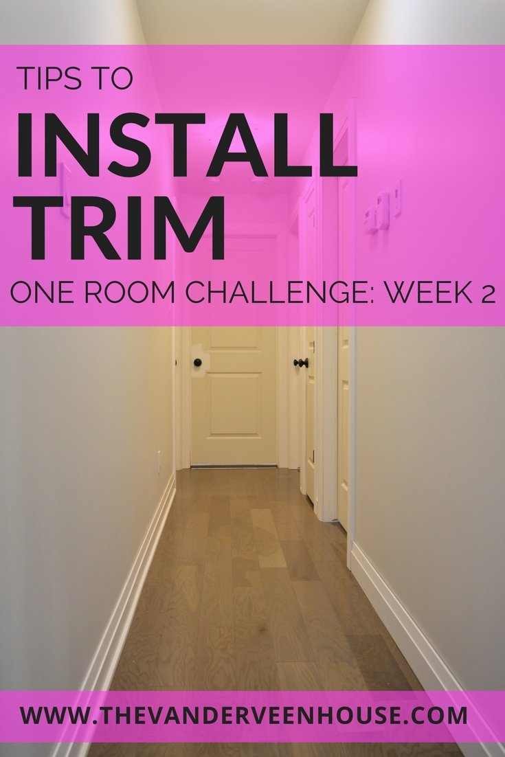Tips for installing your own interior trim
