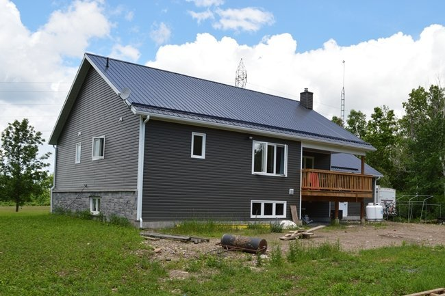 Raised bungalow owner builder