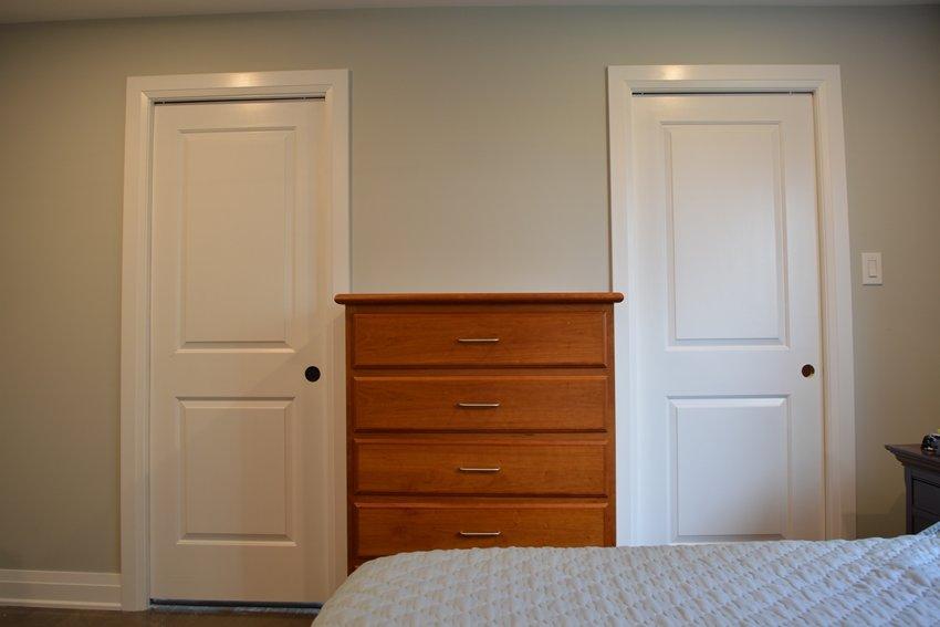 pocket doors master bedroom