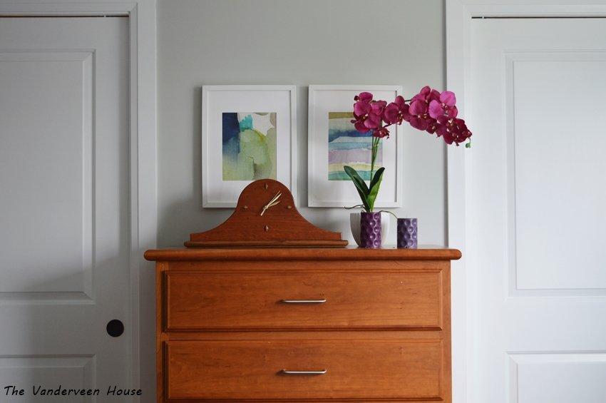 watercolor fabric as art prints