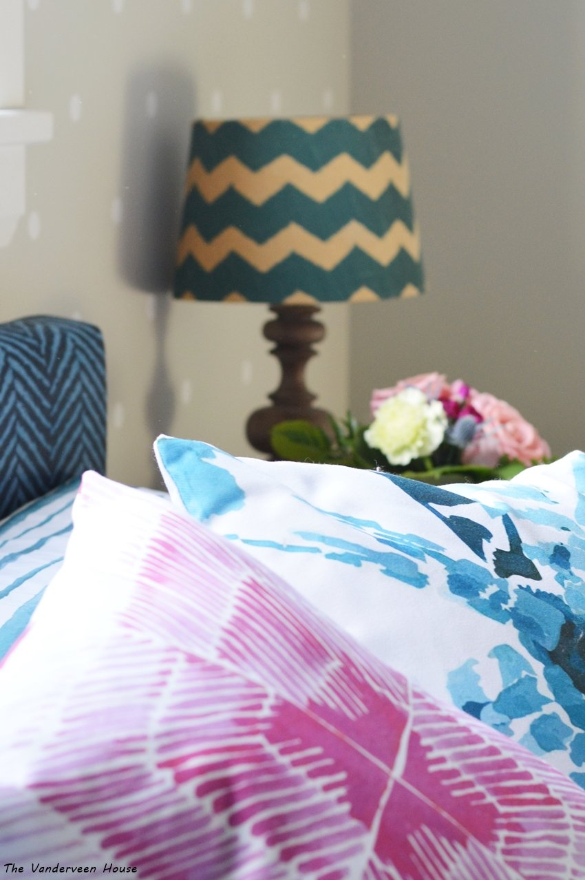 jewel tone master bedroom