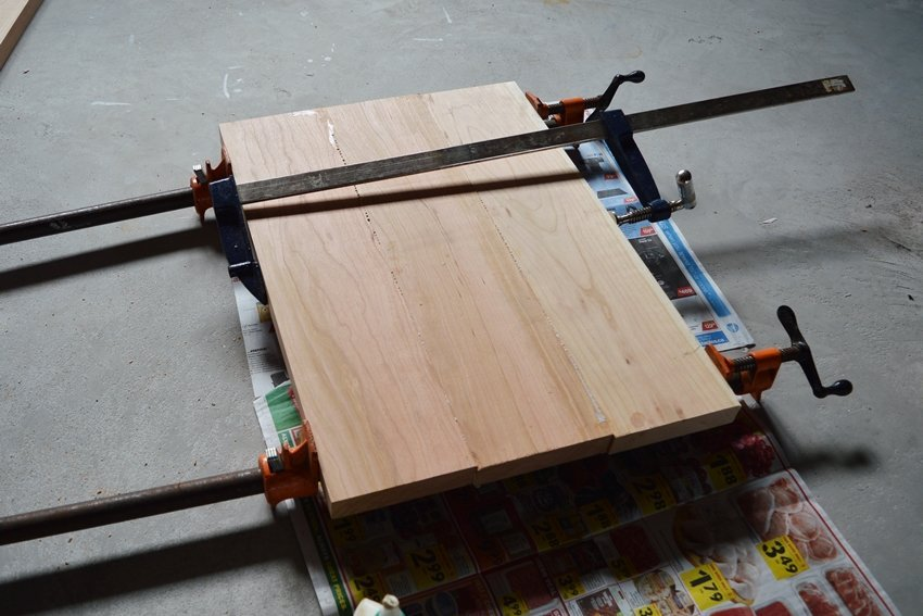 woodworking with solid cherry