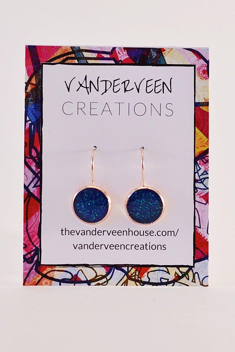 handmade glitter jewelry