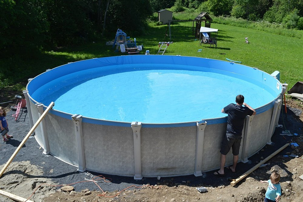 how to install an above ground pool yourself