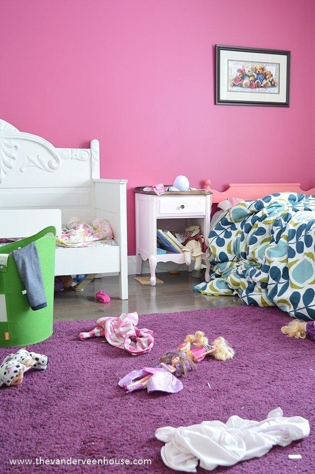 7 tips for kid bedroom organization