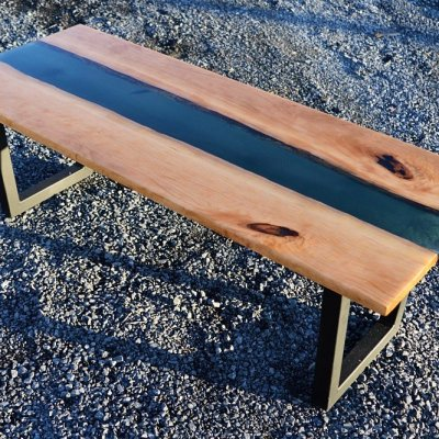 How NOT to make a live edge river coffee table