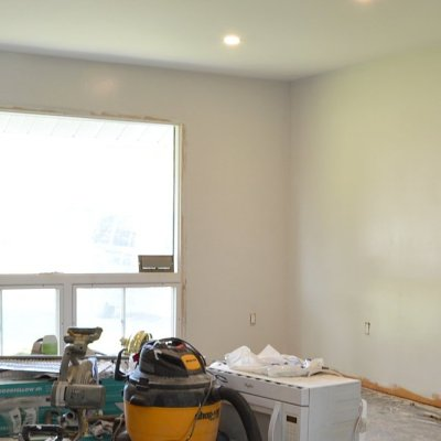 Week 9: Primer, ceiling paint, and wall paint