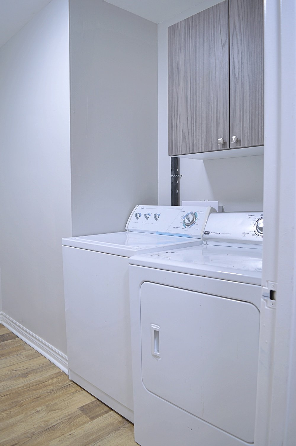 rental property laundry room renovation