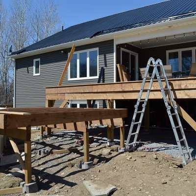How to frame a deck – posts, beams and joists