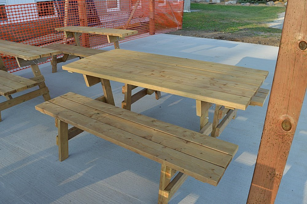 DIY convertible picnic table bench
