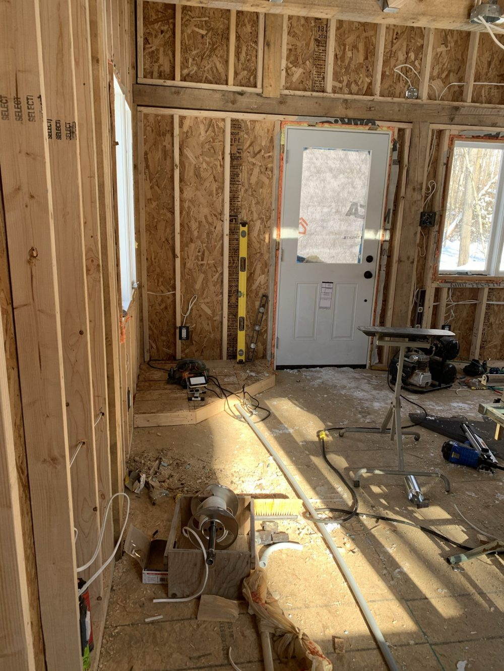 cabin electrical wiring