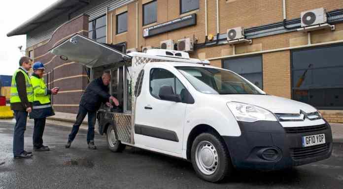 Citroën Berlingo Panino mobile catering van