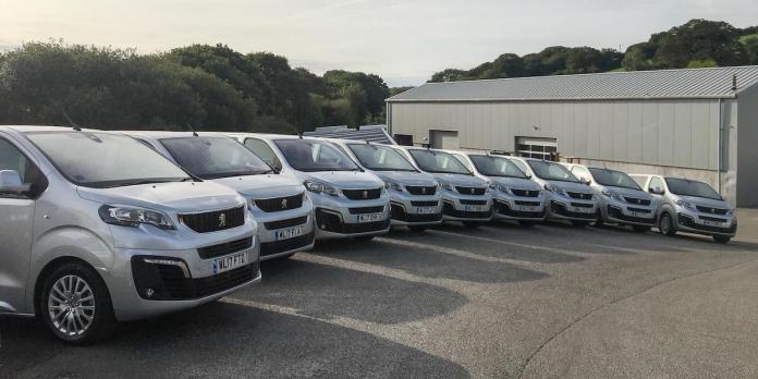 Peugeot Expert vans for Spectrum