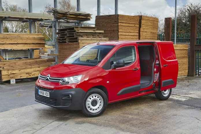 Citroën Berlingo review - front 2   The Van Expert