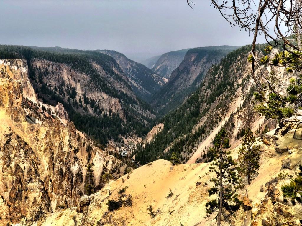 Grand Canyon of the Yellowstone canyon