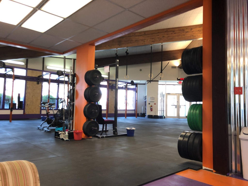 Hellroaring CrossFit home away from home