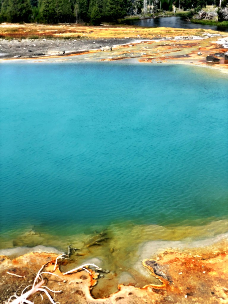 Sapphire pool yellowstone national park