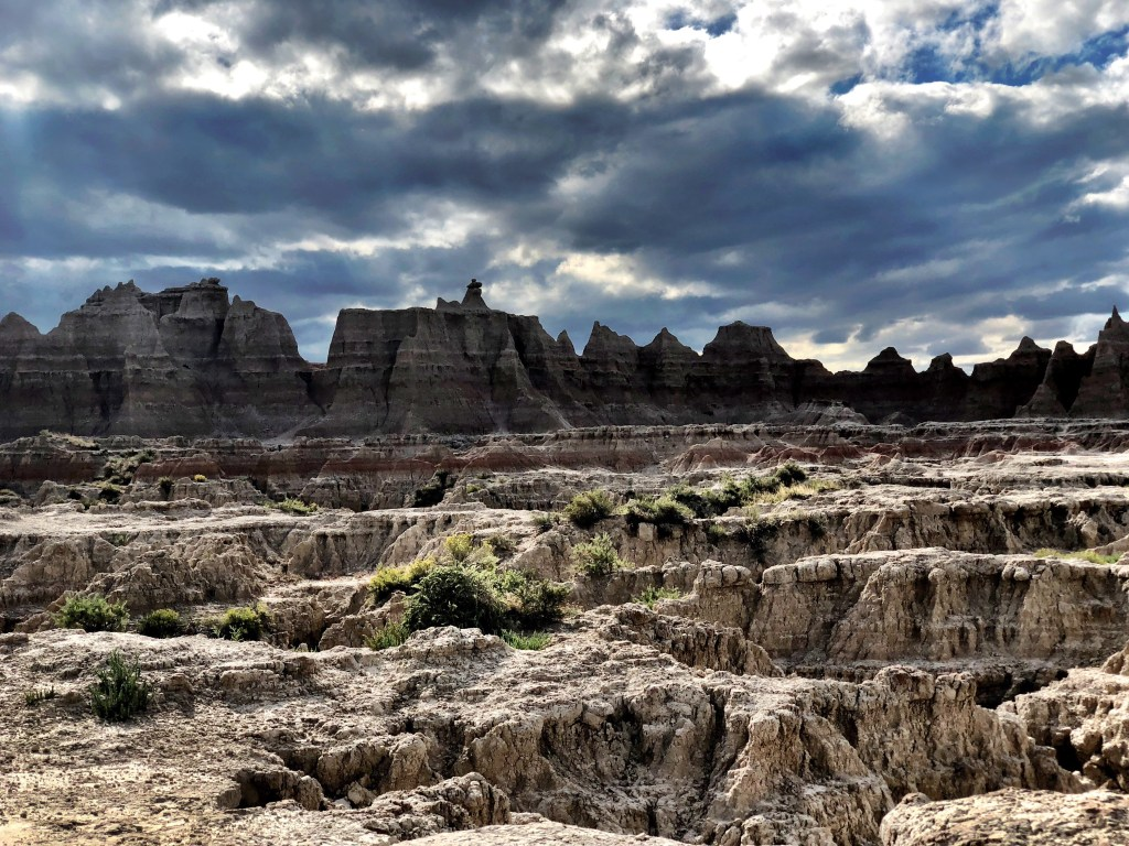 Badlands National Park Vantastic hiking