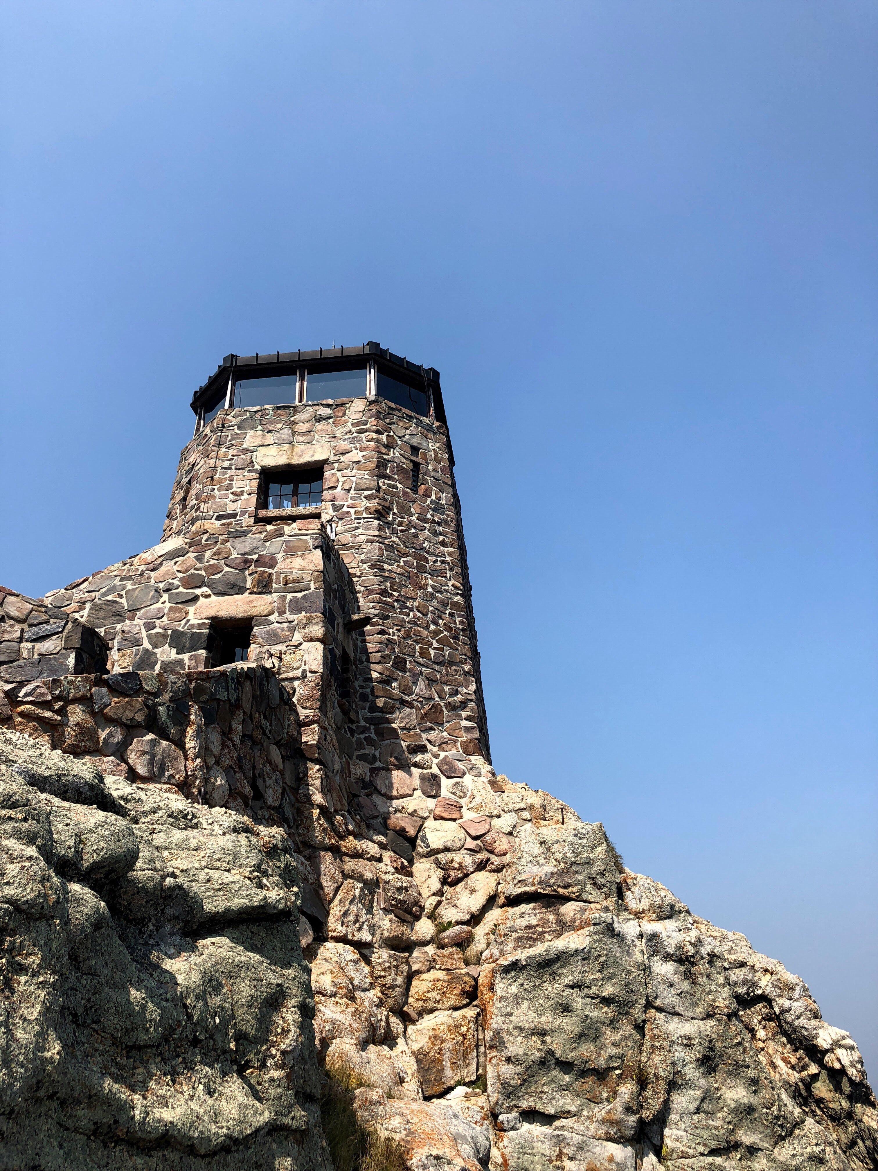 Harney Peak Lookout Tower from below