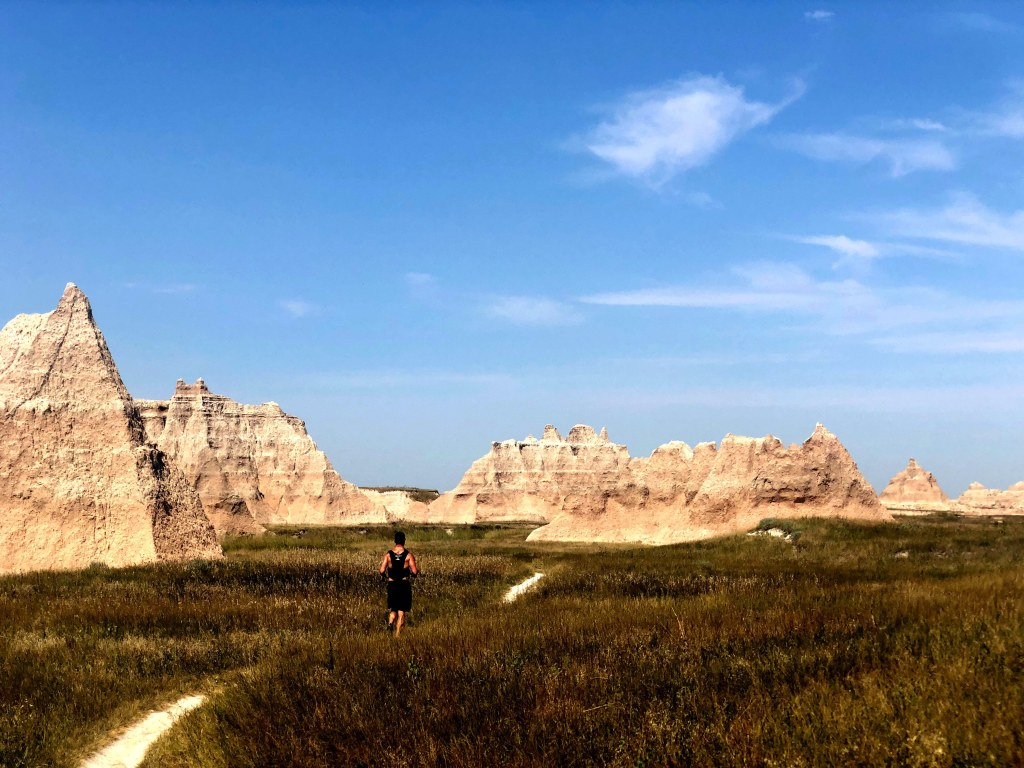 Awesome trail views in Badlands National Park