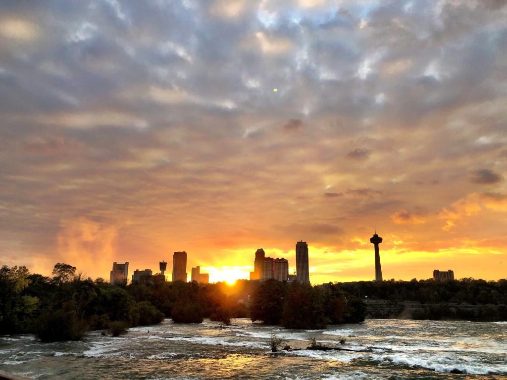 Amazing Sunset at Niagara