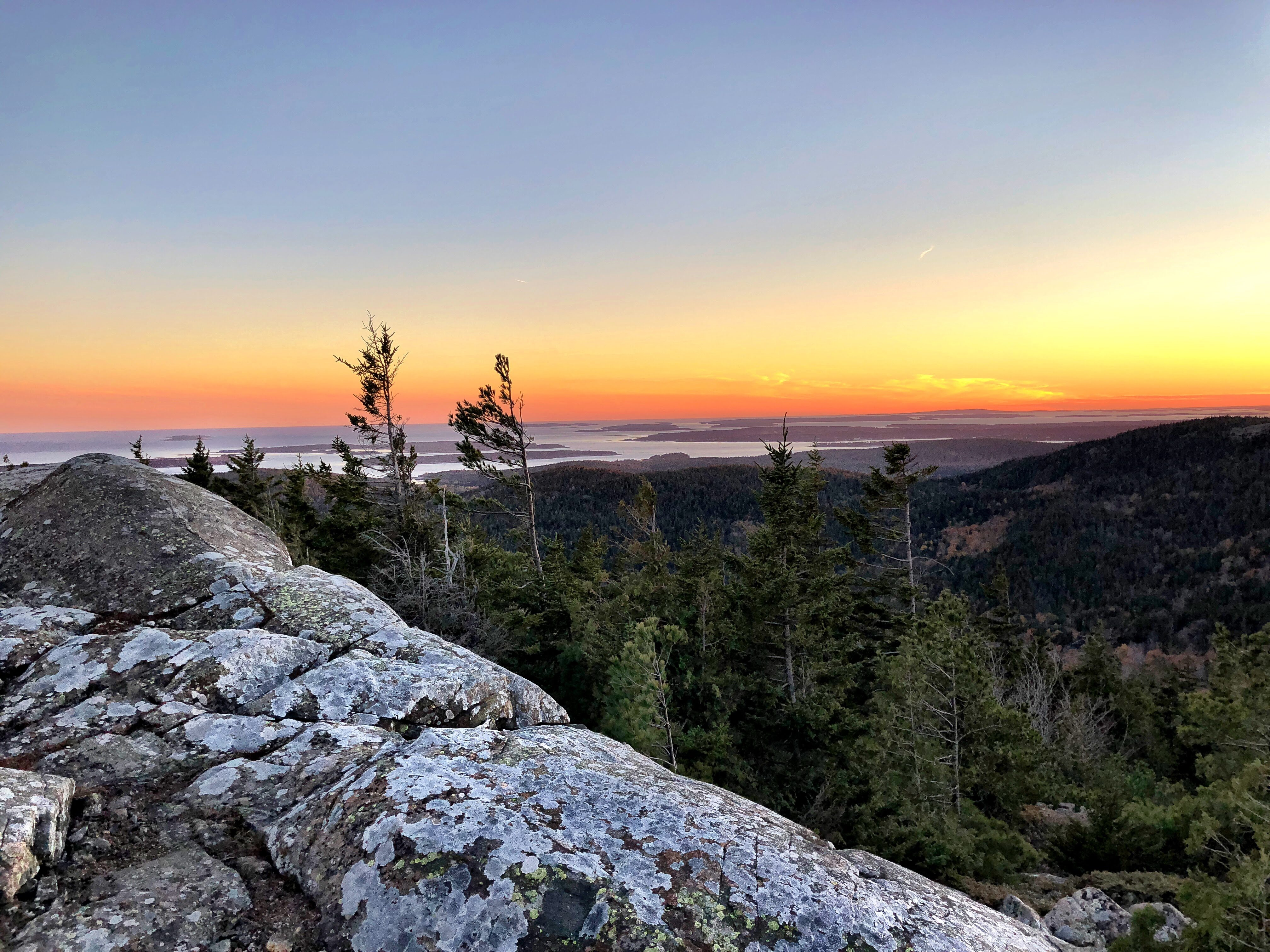 Sunset in Acadia NP